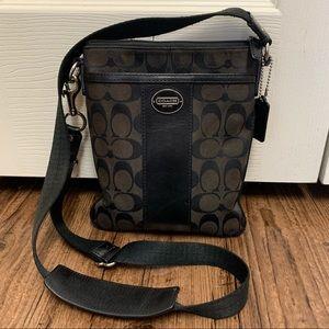 Coach Legacy Signature Swingpack Crossbody Bag